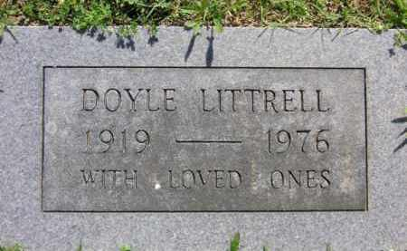LITTRELL (VETERAN WWII), DOYLE - Benton County, Arkansas | DOYLE LITTRELL (VETERAN WWII) - Arkansas Gravestone Photos