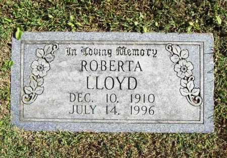 LLOYD, ROBERTA - Benton County, Arkansas | ROBERTA LLOYD - Arkansas Gravestone Photos