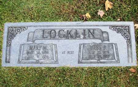 LOCKLIN, MARY M. - Benton County, Arkansas | MARY M. LOCKLIN - Arkansas Gravestone Photos