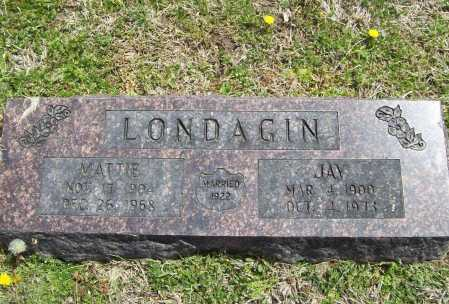 LONDAGIN, JAY - Benton County, Arkansas | JAY LONDAGIN - Arkansas Gravestone Photos