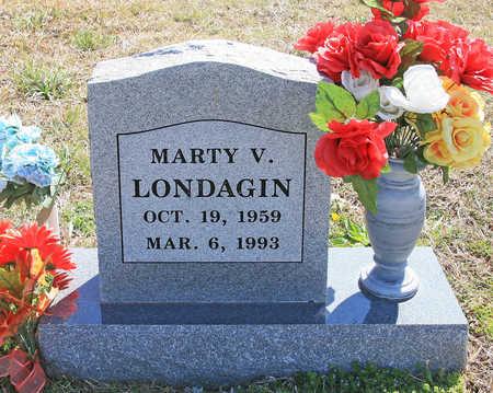 LONDAGIN, MARTY V - Benton County, Arkansas | MARTY V LONDAGIN - Arkansas Gravestone Photos