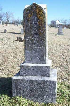 LONE, F. W. - Benton County, Arkansas | F. W. LONE - Arkansas Gravestone Photos