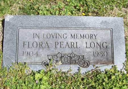LONG, FLORA PEARL - Benton County, Arkansas | FLORA PEARL LONG - Arkansas Gravestone Photos