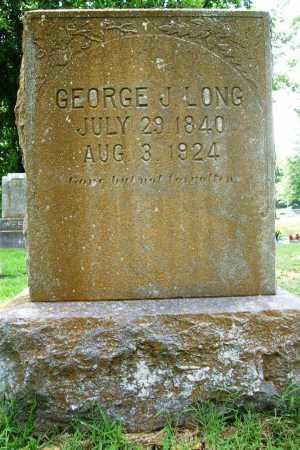 LONG (VETERAN CSA), GEORGE JOHNSEY - Benton County, Arkansas | GEORGE JOHNSEY LONG (VETERAN CSA) - Arkansas Gravestone Photos