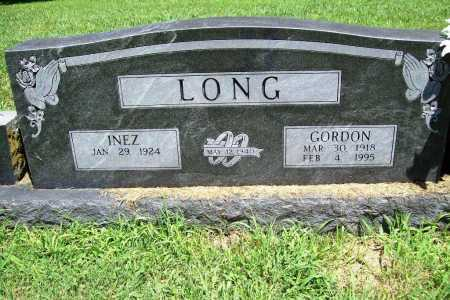LONG, GORDON - Benton County, Arkansas | GORDON LONG - Arkansas Gravestone Photos