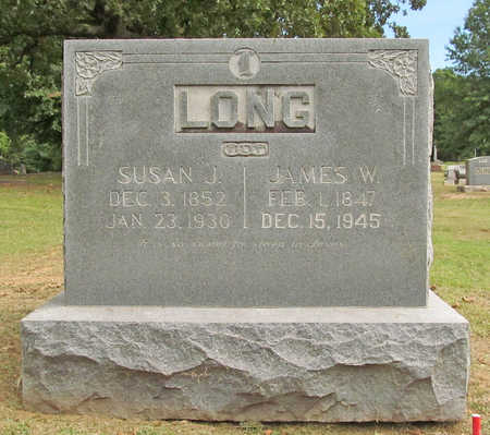 LONG, JAMES W. - Benton County, Arkansas | JAMES W. LONG - Arkansas Gravestone Photos