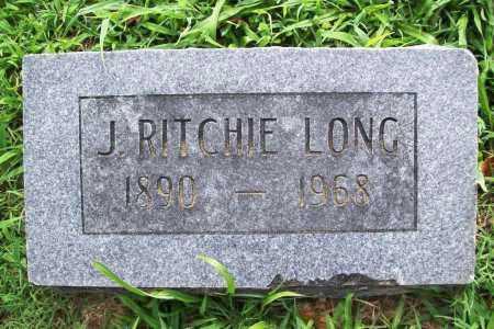 LONG, J. RITCHIE - Benton County, Arkansas | J. RITCHIE LONG - Arkansas Gravestone Photos