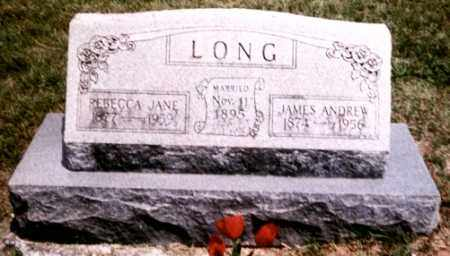 PROCK LONG, REBECCA JANE - Benton County, Arkansas | REBECCA JANE PROCK LONG - Arkansas Gravestone Photos