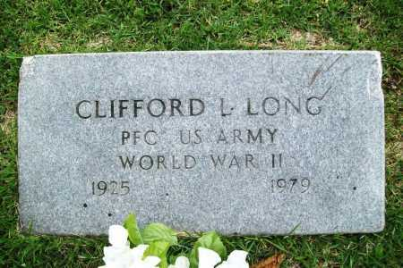 LONG (VETERAN WWII), CLIFFORD L. - Benton County, Arkansas | CLIFFORD L. LONG (VETERAN WWII) - Arkansas Gravestone Photos