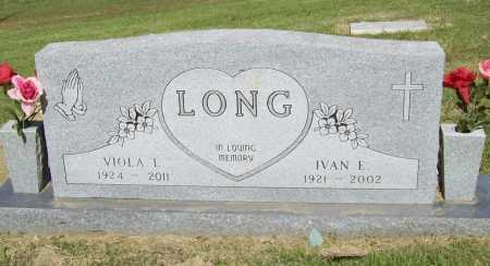 LONG, IVAN EUGENE - Benton County, Arkansas | IVAN EUGENE LONG - Arkansas Gravestone Photos