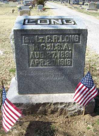 LONG (VETERAN WWI KIA), CHARLES RICHARD - Benton County, Arkansas | CHARLES RICHARD LONG (VETERAN WWI KIA) - Arkansas Gravestone Photos