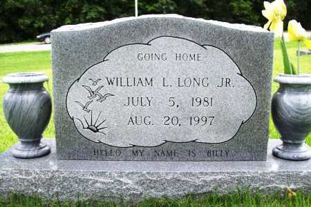 LONG, WILLIAM L. JR. - Benton County, Arkansas | WILLIAM L. JR. LONG - Arkansas Gravestone Photos