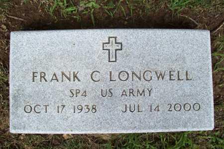 LONGWELL (VETERAN), FRANK C. - Benton County, Arkansas | FRANK C. LONGWELL (VETERAN) - Arkansas Gravestone Photos