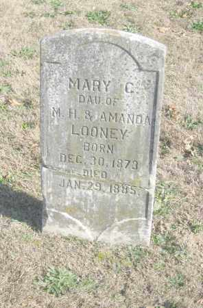 LOONEY, MARY C. - Benton County, Arkansas | MARY C. LOONEY - Arkansas Gravestone Photos