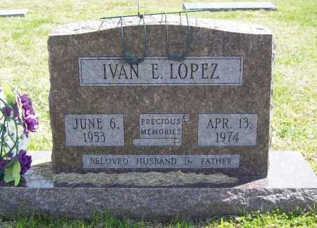 "LOPEZ, IVAN E. ""BUCKSHOT"" - Benton County, Arkansas | IVAN E. ""BUCKSHOT"" LOPEZ - Arkansas Gravestone Photos"