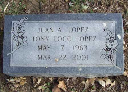 LOPEZ, JUAN ANTONIO - Benton County, Arkansas | JUAN ANTONIO LOPEZ - Arkansas Gravestone Photos