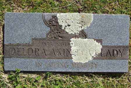 AKIN LOVELADY, DELORA - Benton County, Arkansas | DELORA AKIN LOVELADY - Arkansas Gravestone Photos