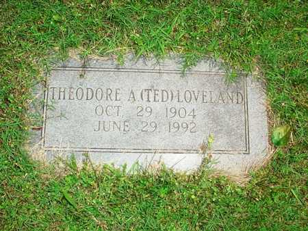 LOVELAND, THEODORE A. (TED) - Benton County, Arkansas | THEODORE A. (TED) LOVELAND - Arkansas Gravestone Photos