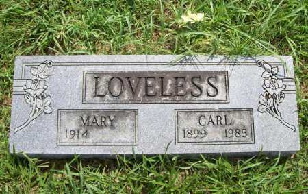 LOVELESS, CARL - Benton County, Arkansas | CARL LOVELESS - Arkansas Gravestone Photos