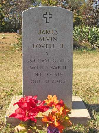 LOVELL II  (VETERAN WWII), JAMES ALVIN - Benton County, Arkansas | JAMES ALVIN LOVELL II  (VETERAN WWII) - Arkansas Gravestone Photos