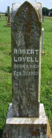 LOVELL, ROBERT - Benton County, Arkansas | ROBERT LOVELL - Arkansas Gravestone Photos