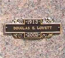 LOVETT (VETERAN WWII), DOUGLAS E. - Benton County, Arkansas | DOUGLAS E. LOVETT (VETERAN WWII) - Arkansas Gravestone Photos