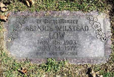 LOW, BERNICE - Benton County, Arkansas | BERNICE LOW - Arkansas Gravestone Photos