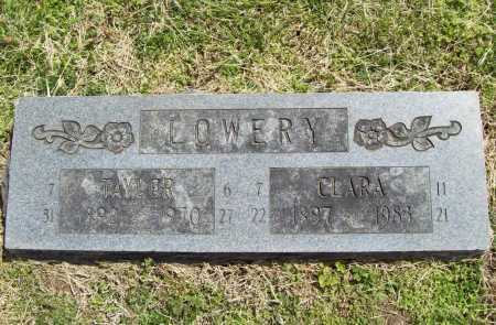 LOWERY, CLARA ALICE - Benton County, Arkansas | CLARA ALICE LOWERY - Arkansas Gravestone Photos