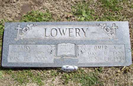 LOWERY, OMER ALVION - Benton County, Arkansas | OMER ALVION LOWERY - Arkansas Gravestone Photos