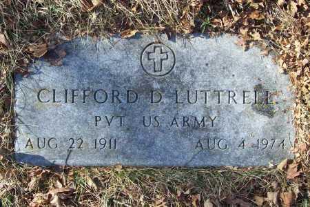 LUTTRELL (VETERAN WWII), CLIFFORD DEWITT - Benton County, Arkansas | CLIFFORD DEWITT LUTTRELL (VETERAN WWII) - Arkansas Gravestone Photos