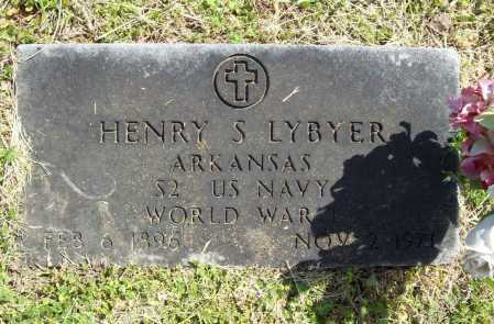 LYBYER (VETERAN WWI), HENRY S - Benton County, Arkansas | HENRY S LYBYER (VETERAN WWI) - Arkansas Gravestone Photos