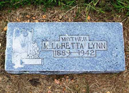 LYNN, M. LORETTA - Benton County, Arkansas | M. LORETTA LYNN - Arkansas Gravestone Photos