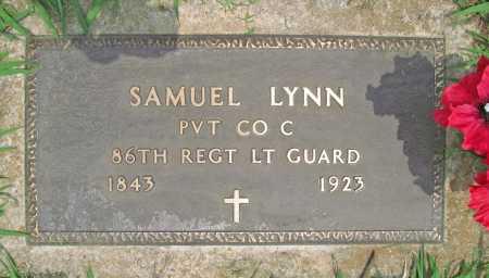 LYNN (VETERAN UNION), SAMUEL - Benton County, Arkansas | SAMUEL LYNN (VETERAN UNION) - Arkansas Gravestone Photos