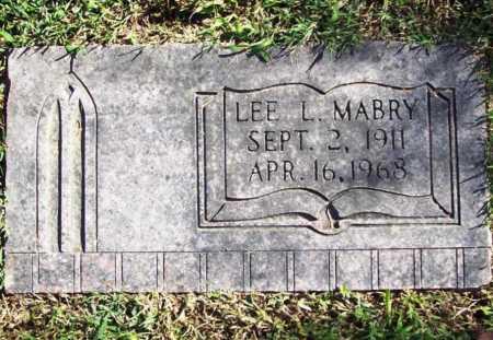 MABRY, LEE L. - Benton County, Arkansas | LEE L. MABRY - Arkansas Gravestone Photos