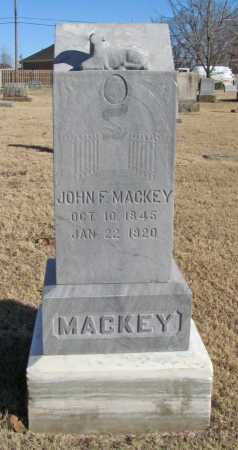 MACKEY (VETERAN UNION), JOHN F - Benton County, Arkansas | JOHN F MACKEY (VETERAN UNION) - Arkansas Gravestone Photos