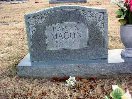 SCOGGAN MACON, ISABEL - Benton County, Arkansas | ISABEL SCOGGAN MACON - Arkansas Gravestone Photos