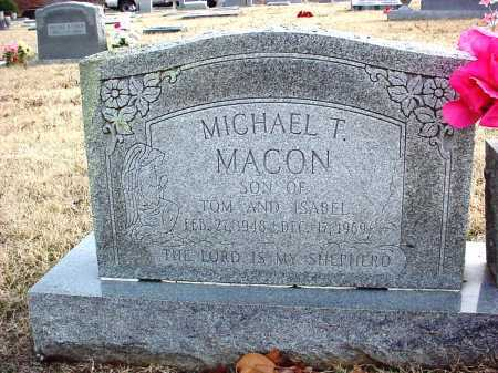 MACON, MICHAEL T. - Benton County, Arkansas | MICHAEL T. MACON - Arkansas Gravestone Photos
