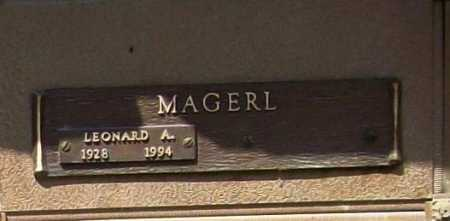MAGERL, LEONARD A. - Benton County, Arkansas | LEONARD A. MAGERL - Arkansas Gravestone Photos
