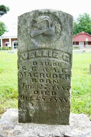 MAGRUDER, NELLIE G. - Benton County, Arkansas | NELLIE G. MAGRUDER - Arkansas Gravestone Photos