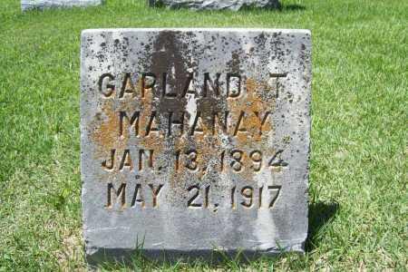 MAHANAY, GARLAND T - Benton County, Arkansas | GARLAND T MAHANAY - Arkansas Gravestone Photos