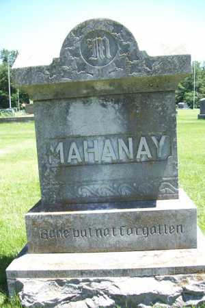 MAHANAY, HEADSTONE - Benton County, Arkansas | HEADSTONE MAHANAY - Arkansas Gravestone Photos
