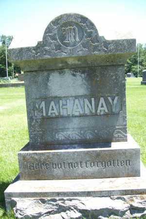 MAHANAY, FAMILY STONE - Benton County, Arkansas | FAMILY STONE MAHANAY - Arkansas Gravestone Photos