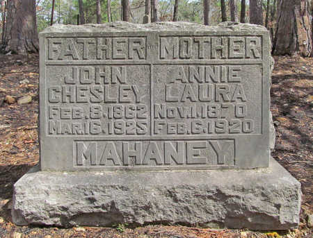 MAHANEY, JOHN CHESLEY - Benton County, Arkansas | JOHN CHESLEY MAHANEY - Arkansas Gravestone Photos