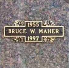 MAHER, BRUCE W. - Benton County, Arkansas | BRUCE W. MAHER - Arkansas Gravestone Photos