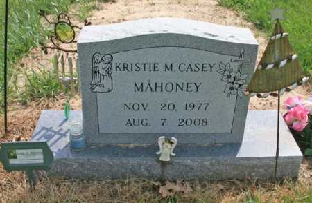 CASEY MAHONEY, KRISTIE MICHELE - Benton County, Arkansas | KRISTIE MICHELE CASEY MAHONEY - Arkansas Gravestone Photos