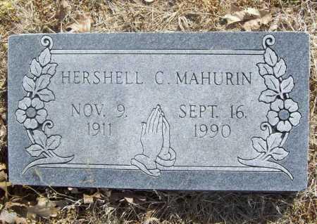 MAHURIN, HERSHELL CHARLES - Benton County, Arkansas | HERSHELL CHARLES MAHURIN - Arkansas Gravestone Photos