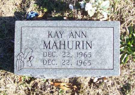 MAHURIN, KAY ANN - Benton County, Arkansas | KAY ANN MAHURIN - Arkansas Gravestone Photos