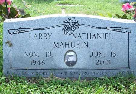 MAHURIN, LARRY NATHANIEL - Benton County, Arkansas | LARRY NATHANIEL MAHURIN - Arkansas Gravestone Photos