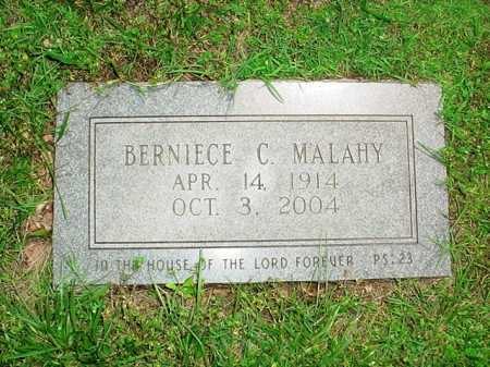 MALAHY, BERNIECE C. - Benton County, Arkansas | BERNIECE C. MALAHY - Arkansas Gravestone Photos