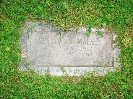 MALAHY, VERNON M. - Benton County, Arkansas | VERNON M. MALAHY - Arkansas Gravestone Photos